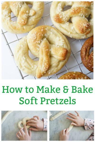 how to make soft pretzels at home
