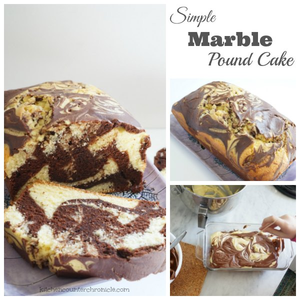 Simple Marble Pound Cake fb