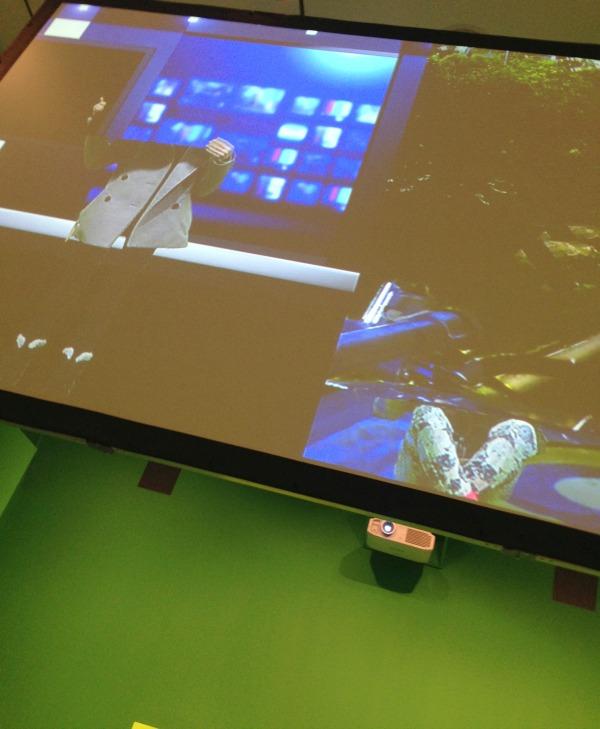 TIFF digiPlaySpace green screen