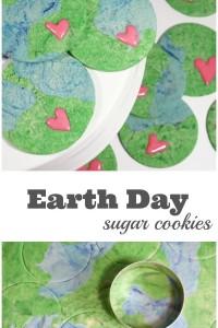 Earth Day Sugar Cookie Recipe