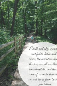 Earth and sky Earth Day quote