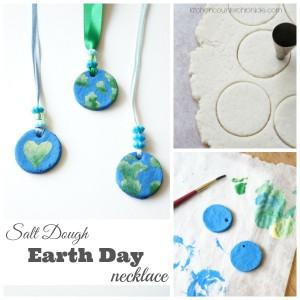 Salt Dough Earth Day Necklace fb