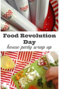 Food Revolution Day House Party Wrap Up