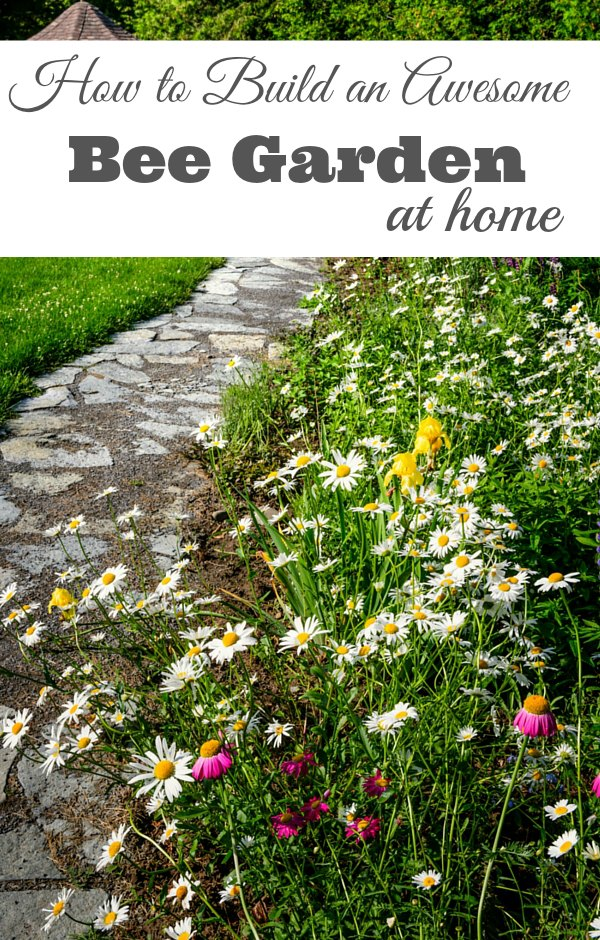 Amazing How To Build A Bee Garden At Home