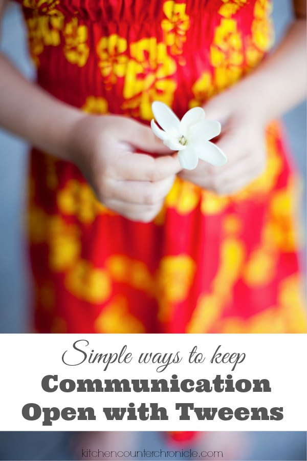 Simple Ways to Keep Communication Open with Tweens