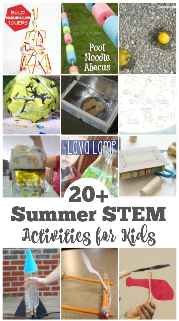 20 Awesome Summer Stem Activities For Kids