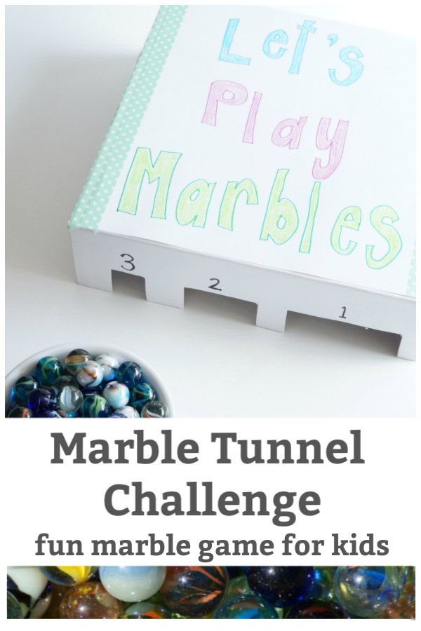 fun marble game for kids marble tunnel challenge