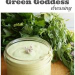 Super Simple Green Goddess Dressing