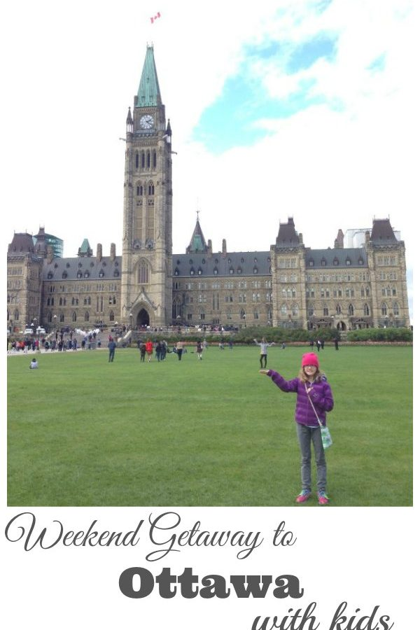 Weekend Getaway to Ottawa with Kids #ad