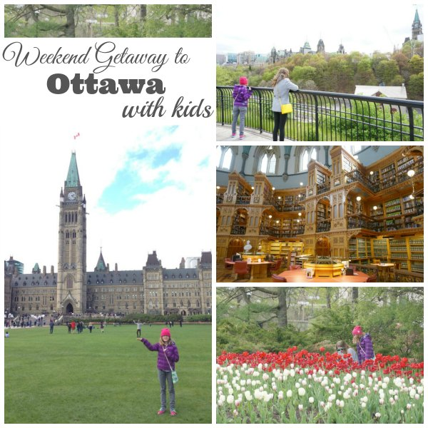Weekend Travel to Ottawa with Kids