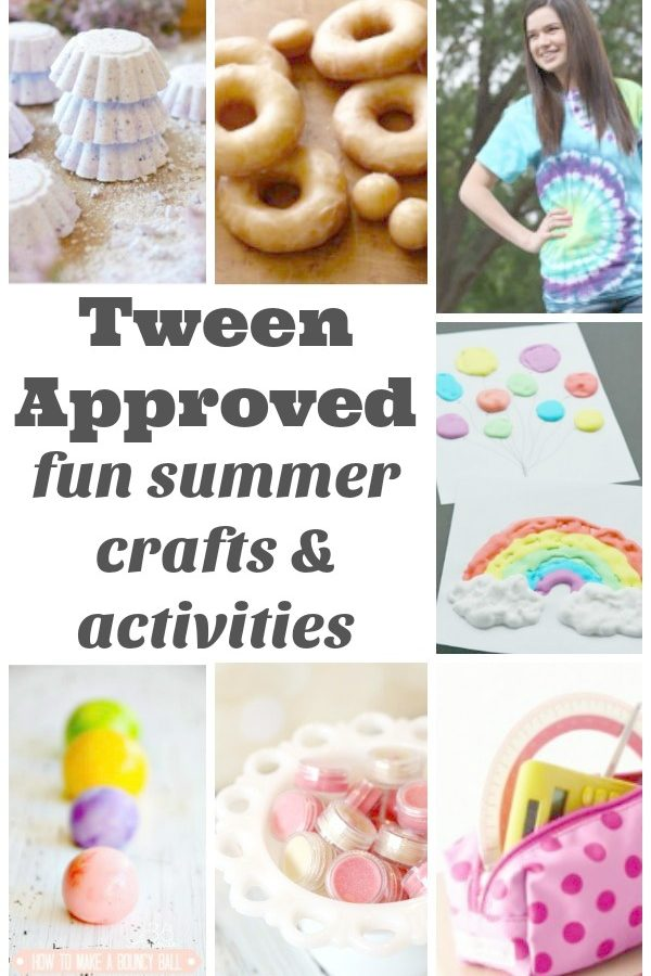 The Best Summer Crafts and Activities for Tweens