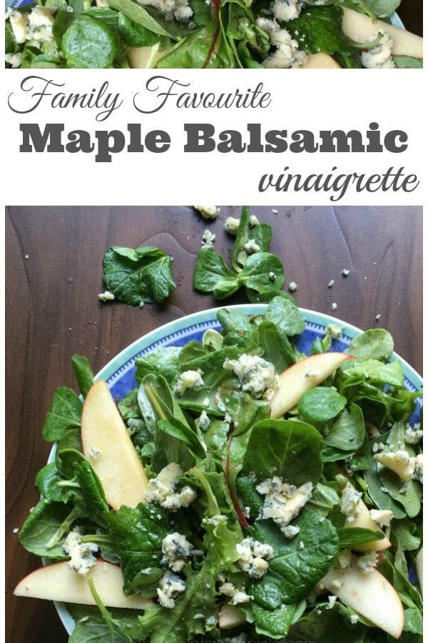 Maple Balsamic Vinaigrette