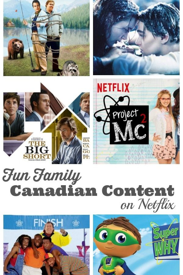 Fun Family Canadian Content on Netflix - We share our favourite Canadian movies and TV programs that we are watching on Netflix right now - perfect for family movie night! | Family Movie Night Ideas | StreamTeam