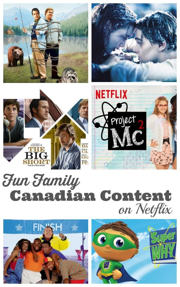 Fun Family Canadian Content On Netflix Streamteam