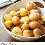 The Best Summer Potato Salad with Grainy Mustard Vinaigrette