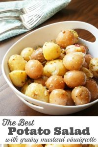 The Best Potato Salad with grainy mustard vinaigrette-min