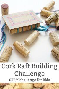 cork raft challenge for kids pin
