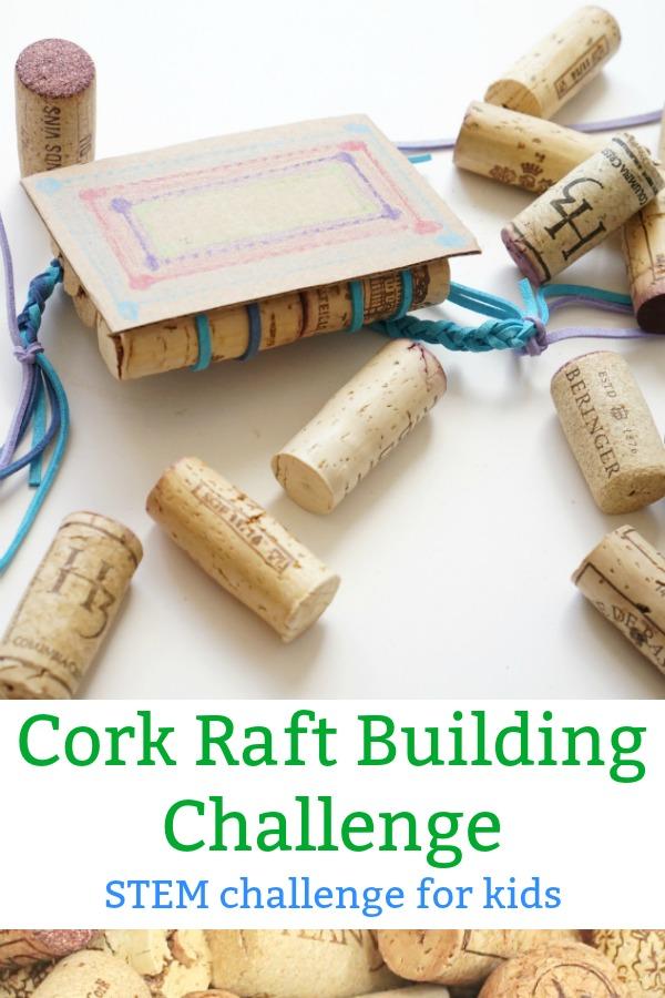 cork raft building challenge