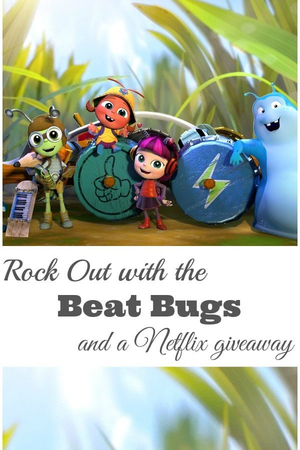 Rock Out with the Beat Bugs - A super awesome Netflix subscription giveaway. #ad