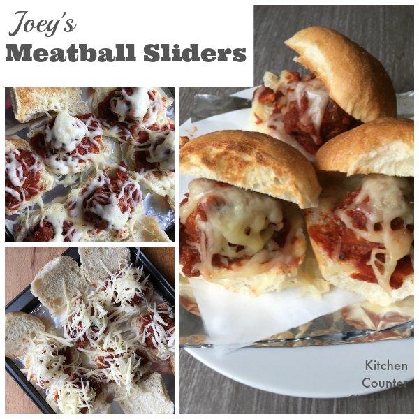 Joey's Meatball Slider