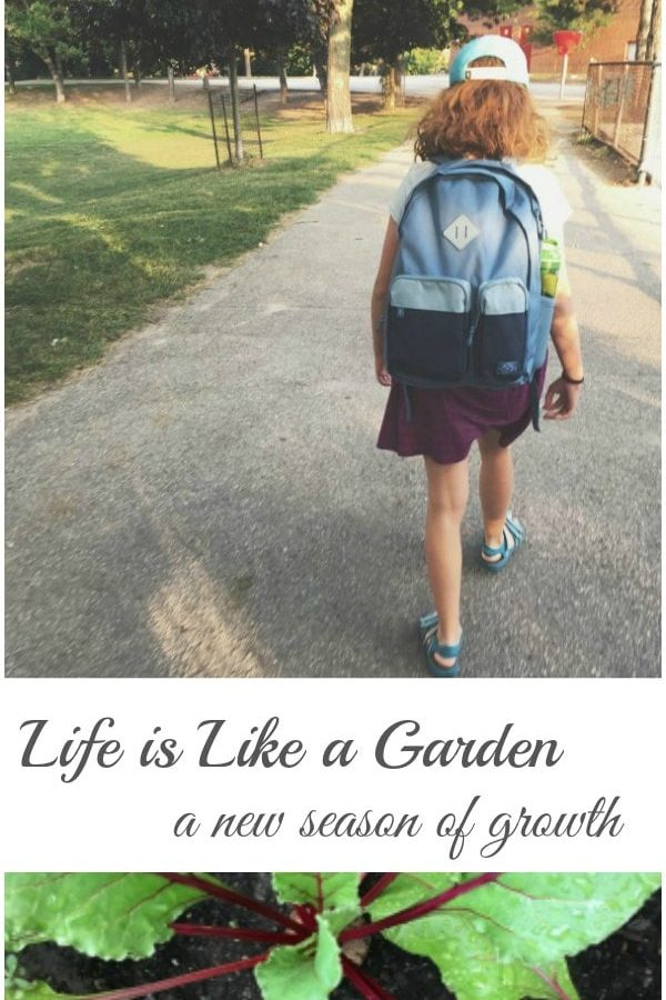 Life is Like a Garden – A New Season of Growth