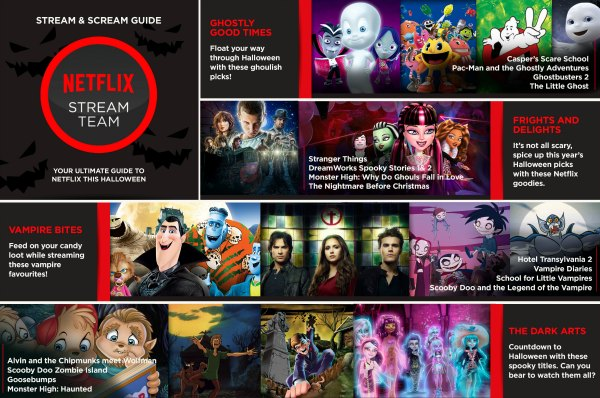 Netflix stream and scream