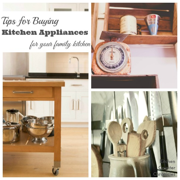 Tips for Buying Kitchen Appliances