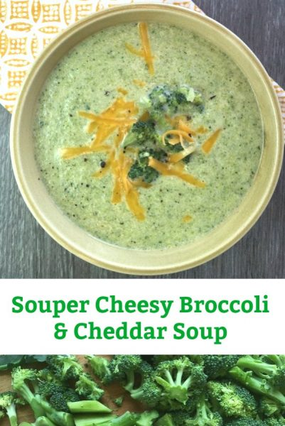 cheesy broccoli and cheddar soup