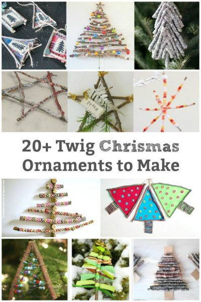 ornaments made from twigs