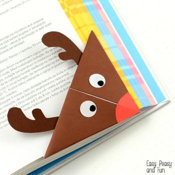 reindeer bookmark