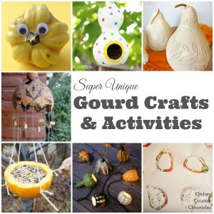 gourd crafts and gourd activities