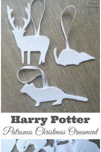 Harry Potter Inspired Patronus Christmas Ornament
