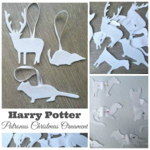 Harry Potter Patronus Christmas Ornament