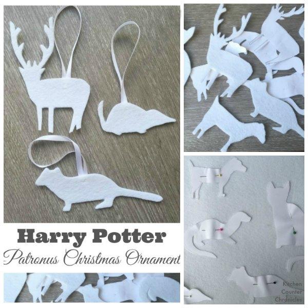 Harry Potter Patronus Christmas Ornament