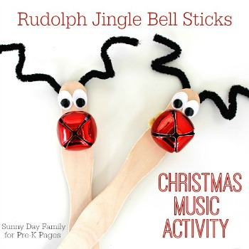 Rudolph crafts for kids