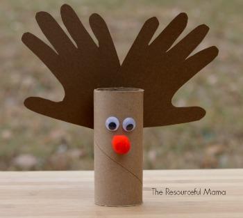 reindeer toilet roll