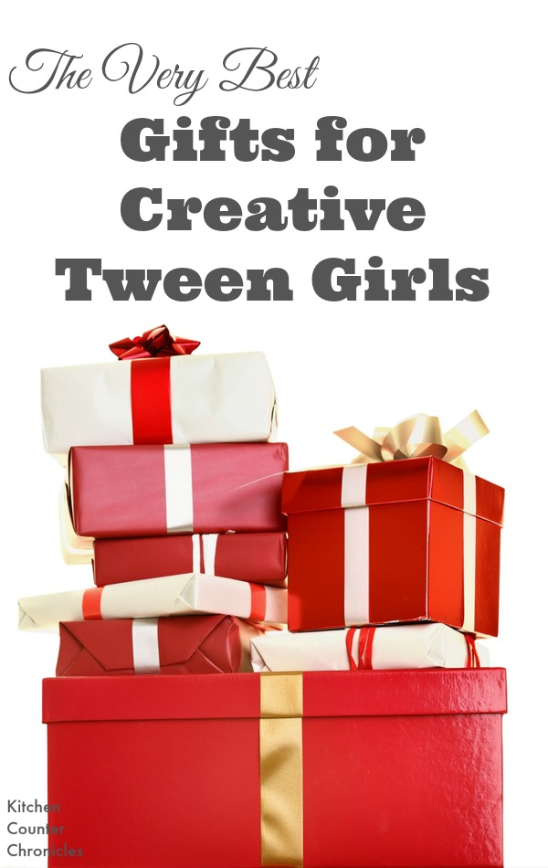 The Very Best Gifts for Creative Tween Girls - We've gathered up a list of awesome gifts for the creative tween girls in your life. Think art, music, creative writing and more. | Gift Guide | Christmas Gift Guide for Kids | Gift Guide for Tweens |