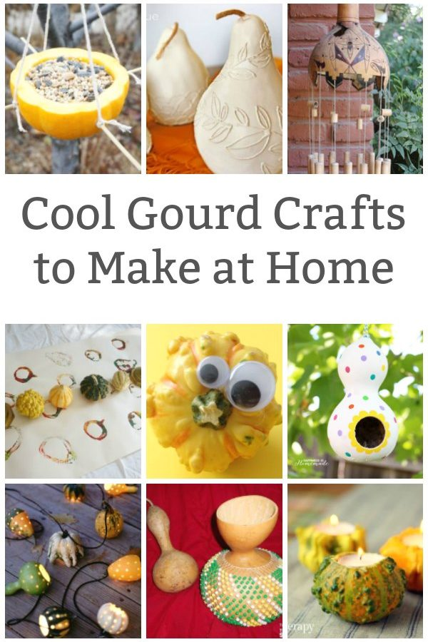 cool craft with gourds featured image