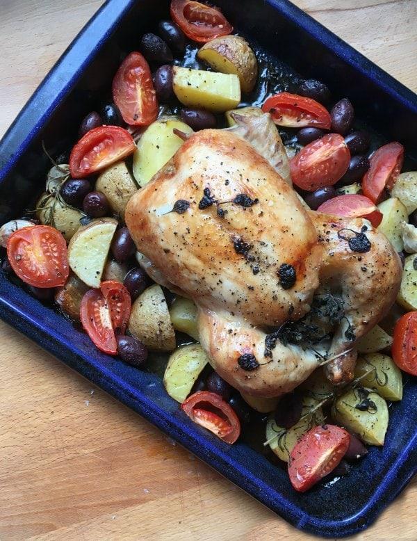 Greek Style Roast Chicken