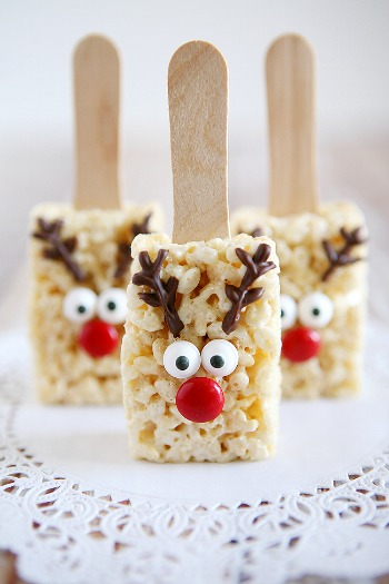 reindeer rice krispy