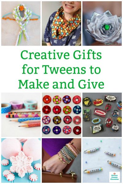creative gifts for tweens to make and give