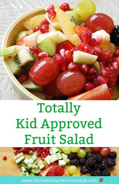 kid approved fruit salad