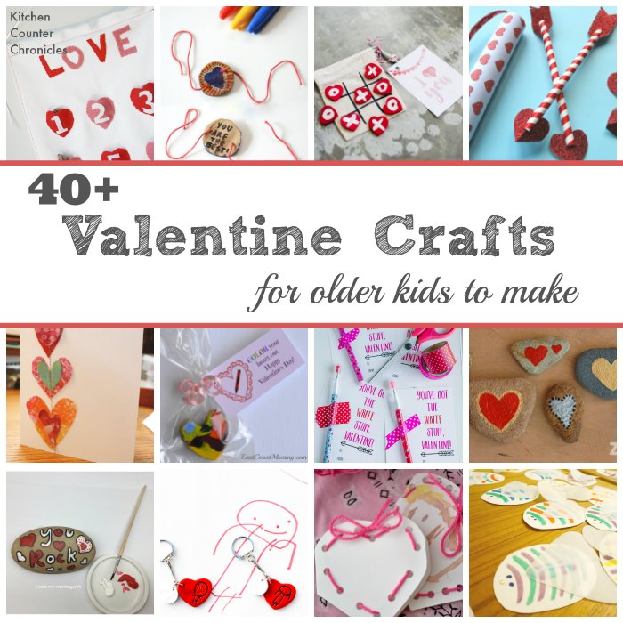 40 Valentine Crafts for Older Kids to Make