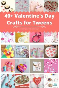 40 valentines day crafts for tweens to make collage of valentine's day crafts