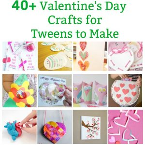 valentines for tweens and valentines for older kids to make and share pin image
