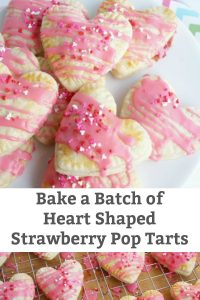 heart shaped pop tarts strawberry filled