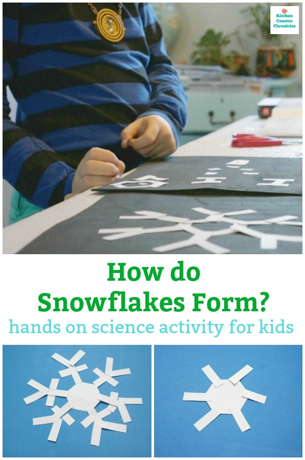 how do snowflakes form?