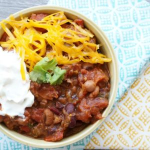 kid friendly vegetarian chili