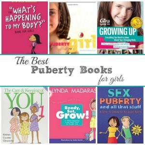 The Best Puberty Books for Girls social