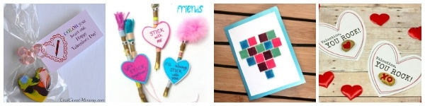 valentine cards for tweens to make collage you rock and stick cards